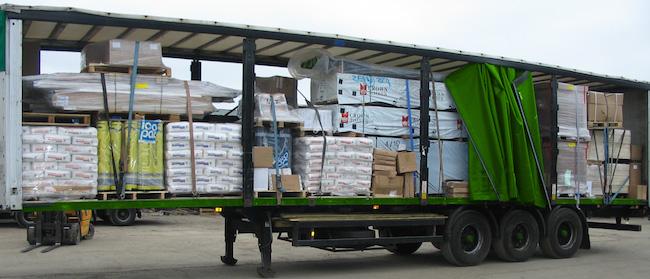 Процесс перевозки сборных грузов автомобилем
